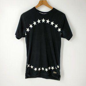 Nike Football Club Star Print T-Shirt Black sz M